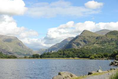 A view of Snowdon from Llanberis