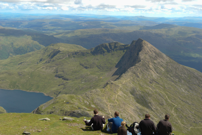 Picture from summit of Snowdon