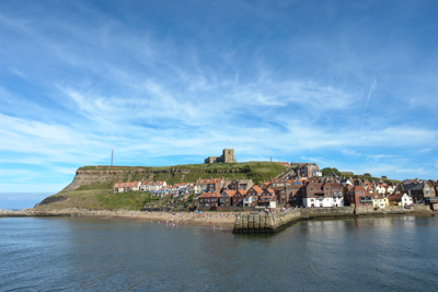 A picture of Whitby church