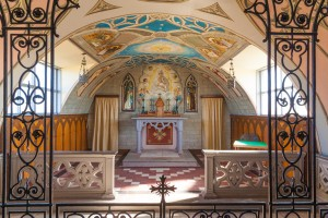 Chancel and Altar of the Italian Chapel